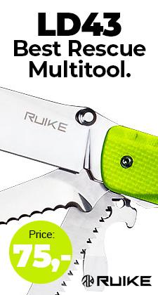 Ruike LD43 rescue multitool
